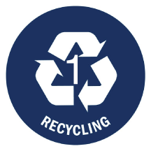 Recycling symbols with a number surrounded by the Chasing Arrows are common. The implication is that all number 1 recyclables are the same. They are not.